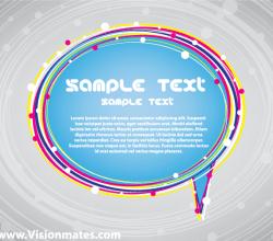 Free Vector Speech Bubble Illustrator
