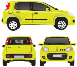Vector Fiat Uno Image
