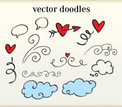 Free Doodles Vector Art