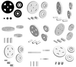 Cogwheels Vector