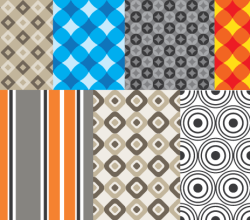 Geometric Patterns Illustrator Vector