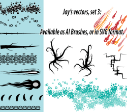 Ai Scatter and Art Brushes