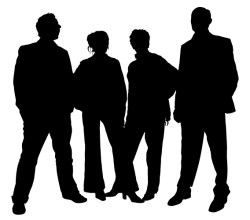Vector Family People Silhouettes