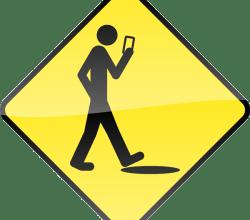Smart Phone, Stupid Human Sign Image