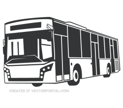 Bus Vector Clip Art