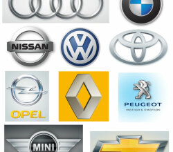 Vector Automobile Logos