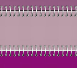 Free Vector Purple Notebook