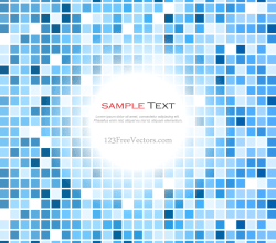 Blue Tiles Background Vector