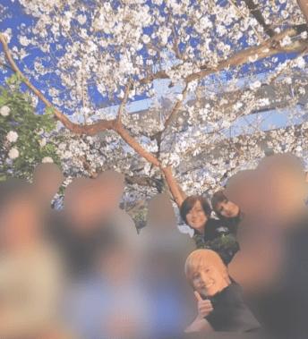 安倍昭恵夫人の花見