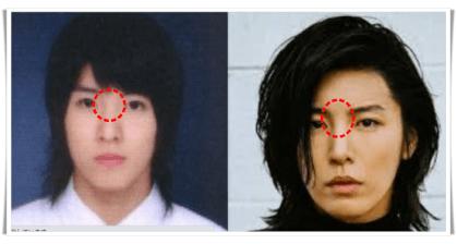 ノミヌの過去と現在の顔比較