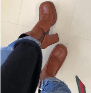 板垣李光人のブーツ