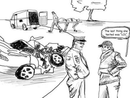 Car Accident: Draw Car Accident Sketch