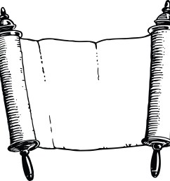 free scroll clipart image [ 4000 x 3798 Pixel ]