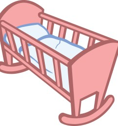 free clipart of a baby crib 00011650  [ 4000 x 4000 Pixel ]