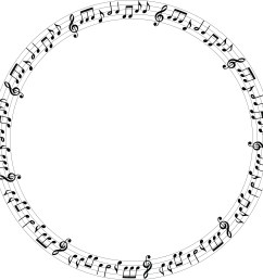 free clipart of a music note frame 00011733  [ 4000 x 4000 Pixel ]