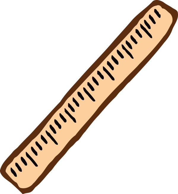 Free Clipart Of Ruler