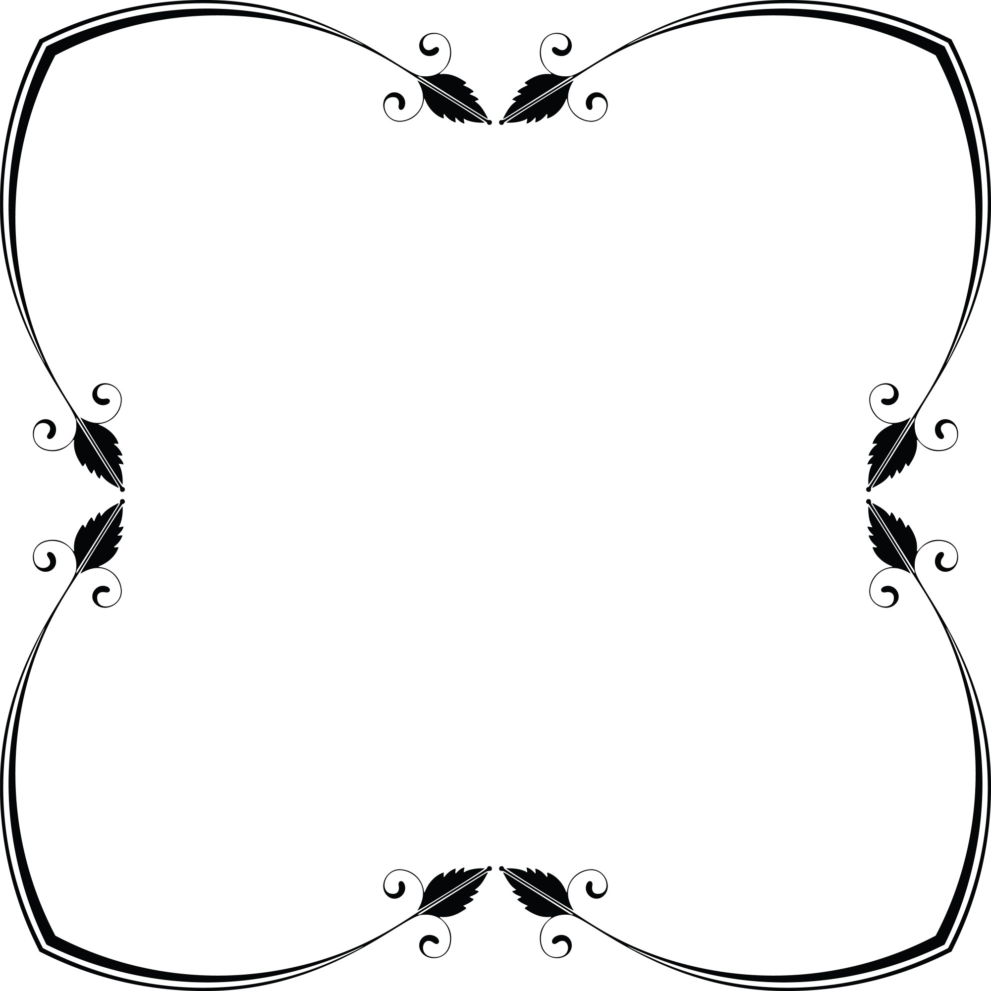 hight resolution of free clipart of a frame design element 00011925