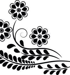 clipart of a flower [ 4000 x 3355 Pixel ]