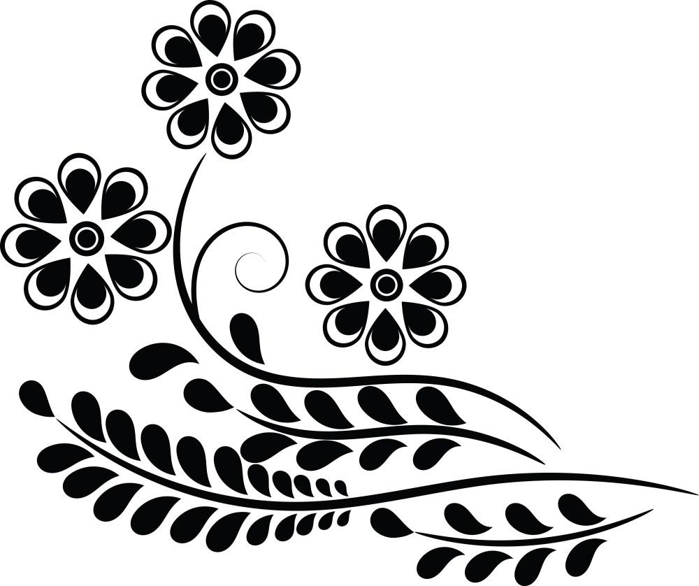 medium resolution of clipart of a flower
