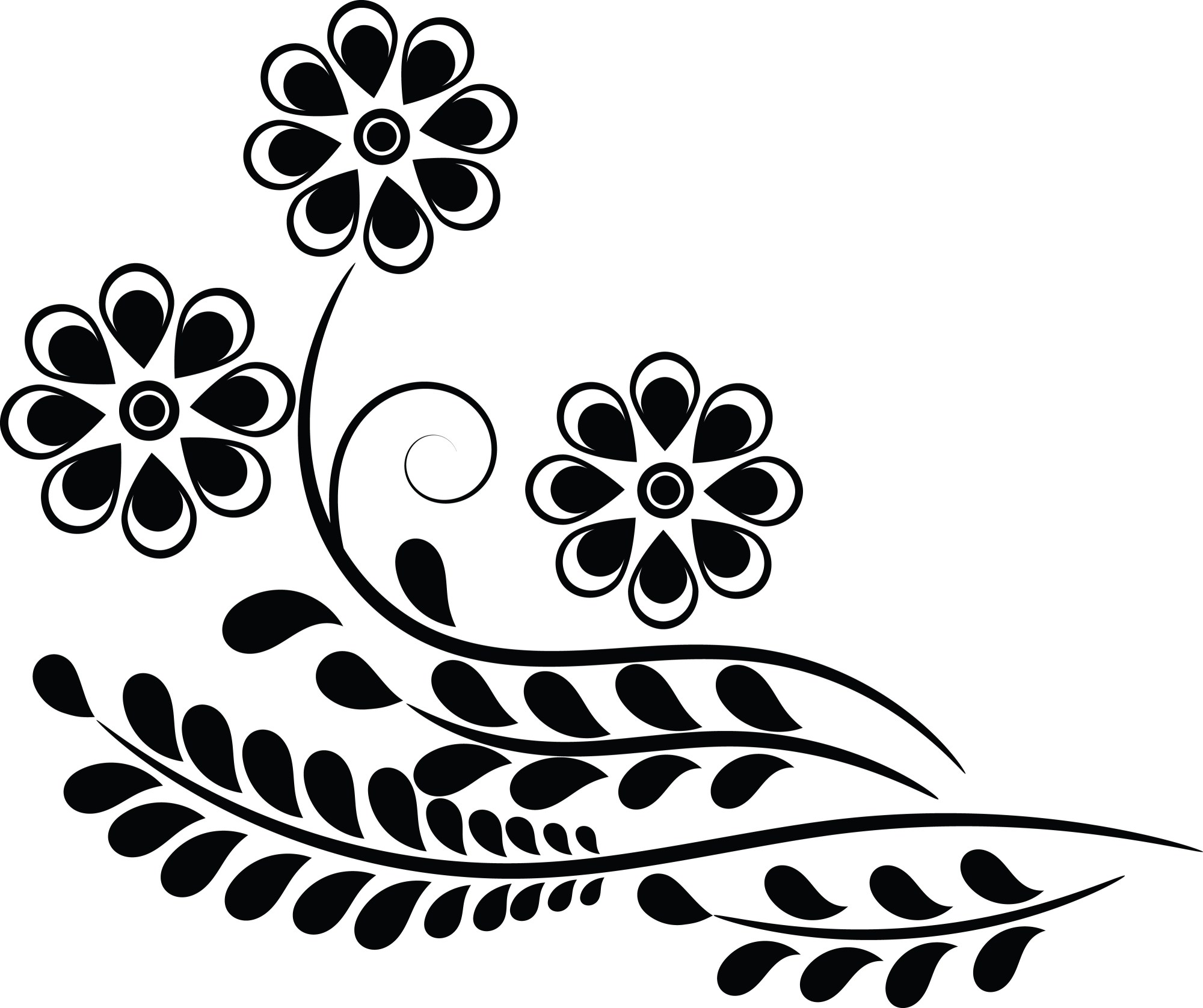 hight resolution of clipart of a flower