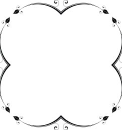 free clipart of a frame design element 00012047  [ 4000 x 4000 Pixel ]