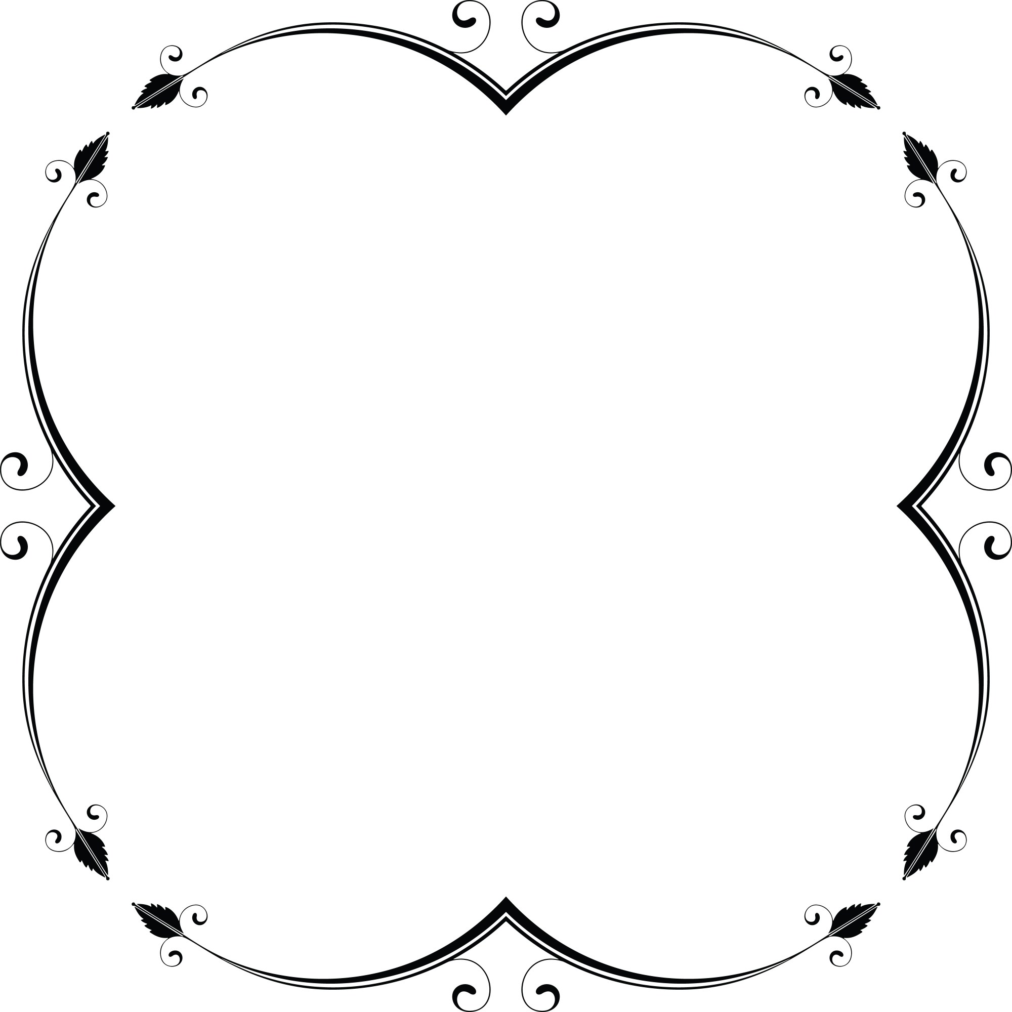hight resolution of free clipart of a frame design element 00012047