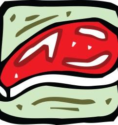 clipart steak [ 4000 x 3820 Pixel ]