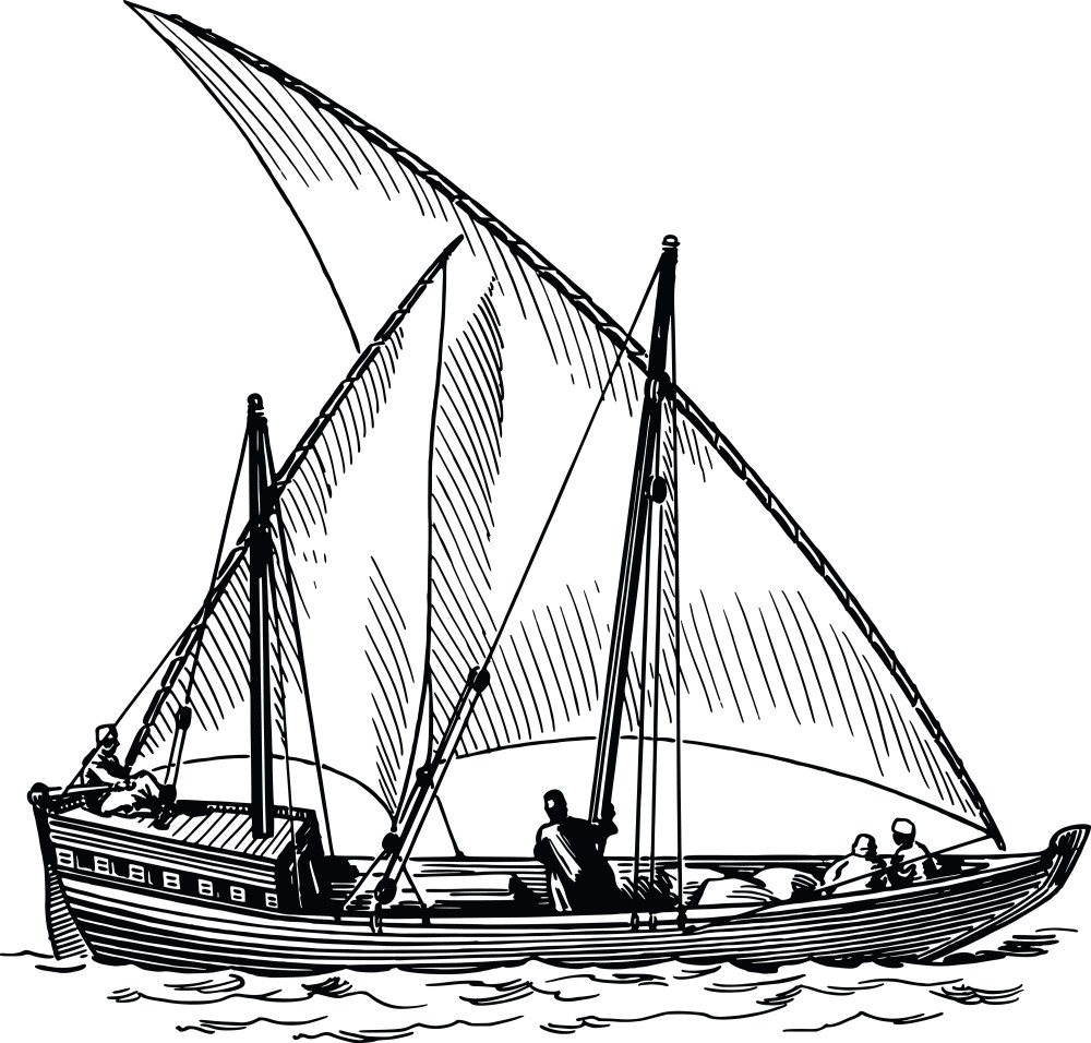 medium resolution of free clipart of a sailing ship 00012105