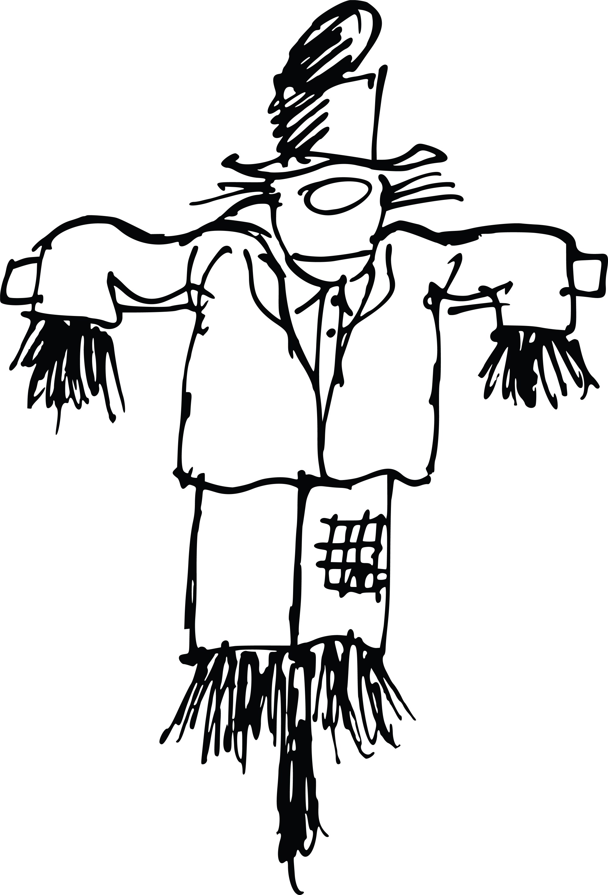 hight resolution of scarecrow clipart free
