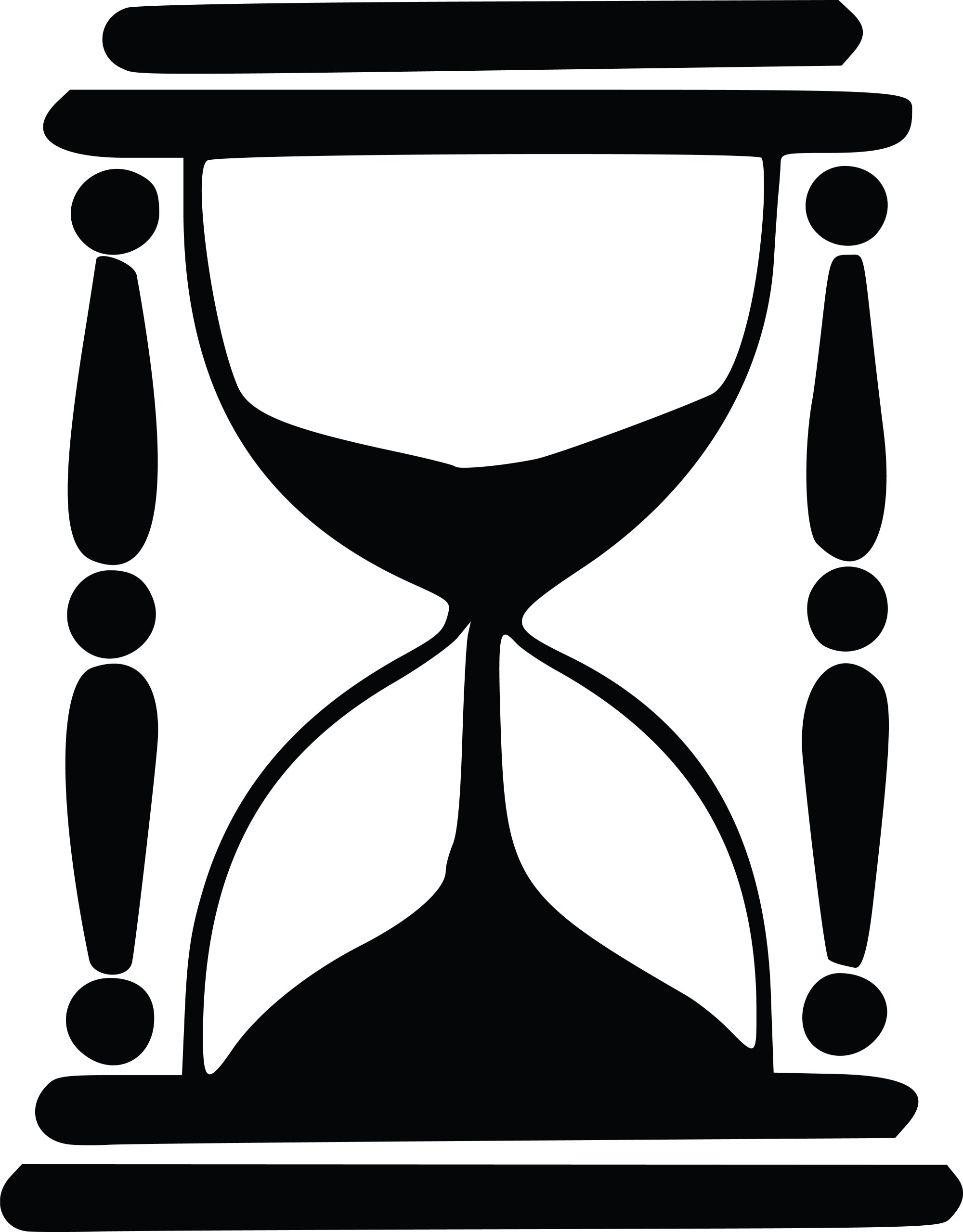 hight resolution of hourglas clipart