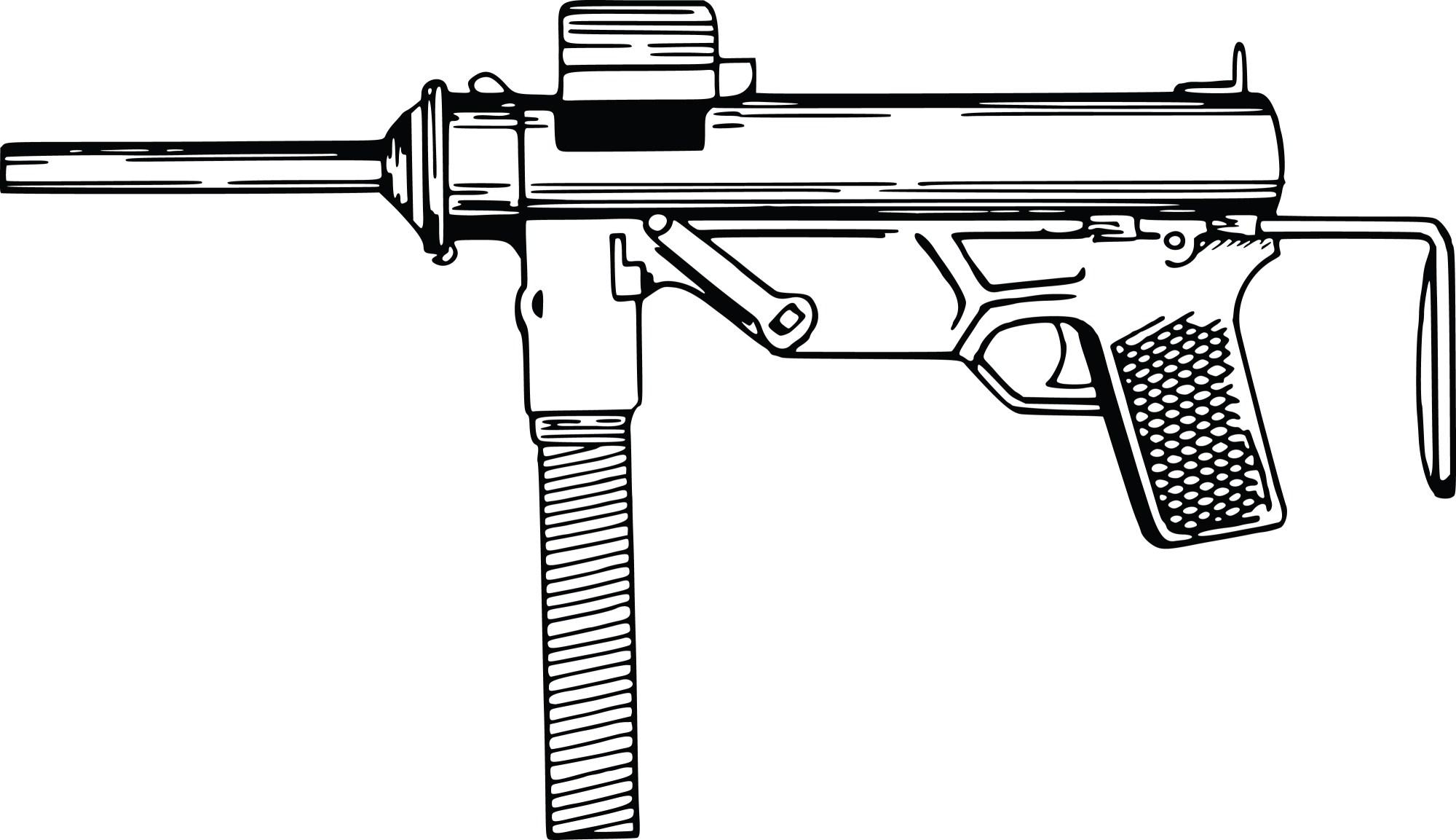 hight resolution of clipart gun