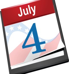 free fourth of july clipart [ 4000 x 4714 Pixel ]