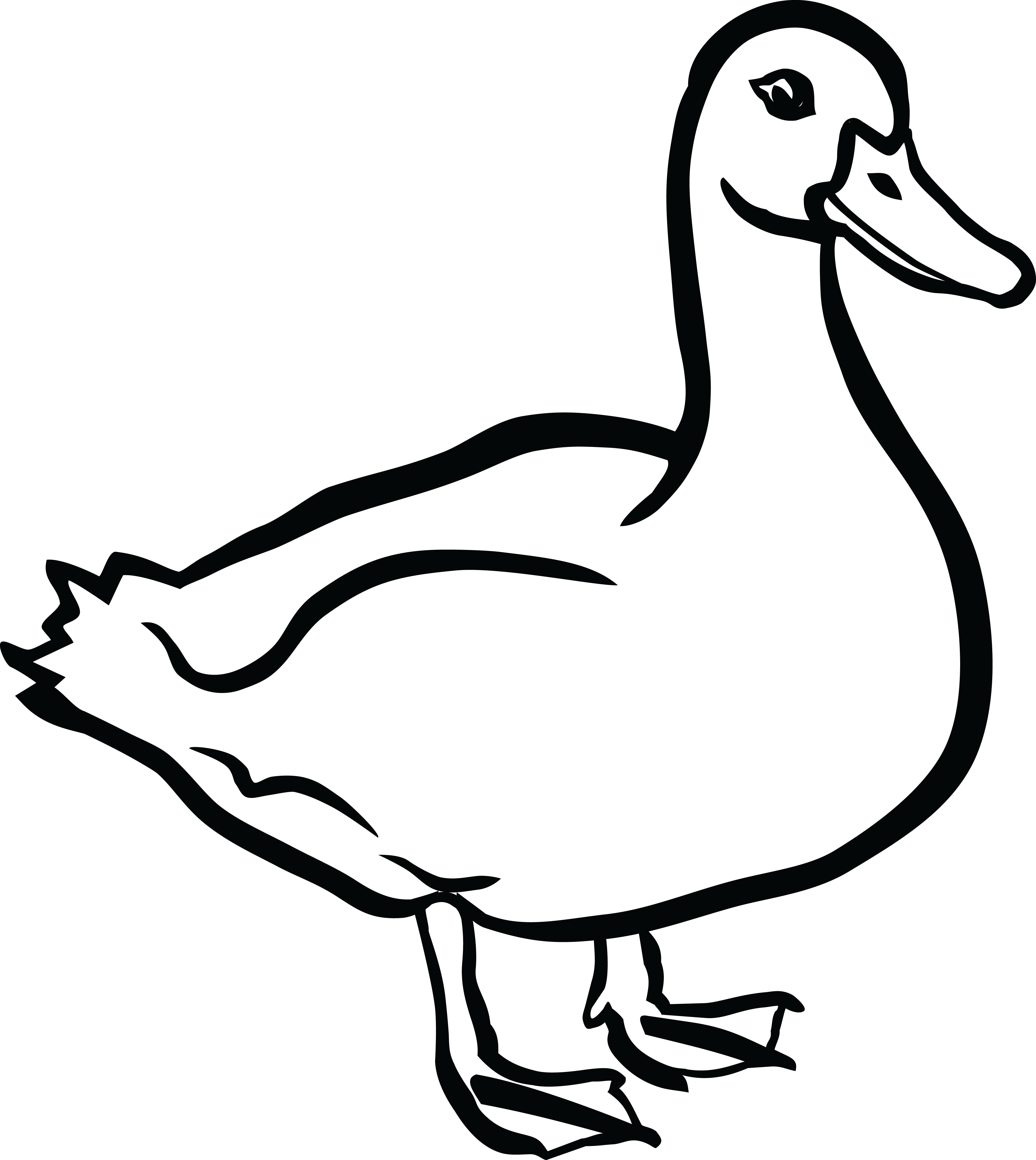 20 Chicken Clip Art Black And White Duck Ideas And Designs
