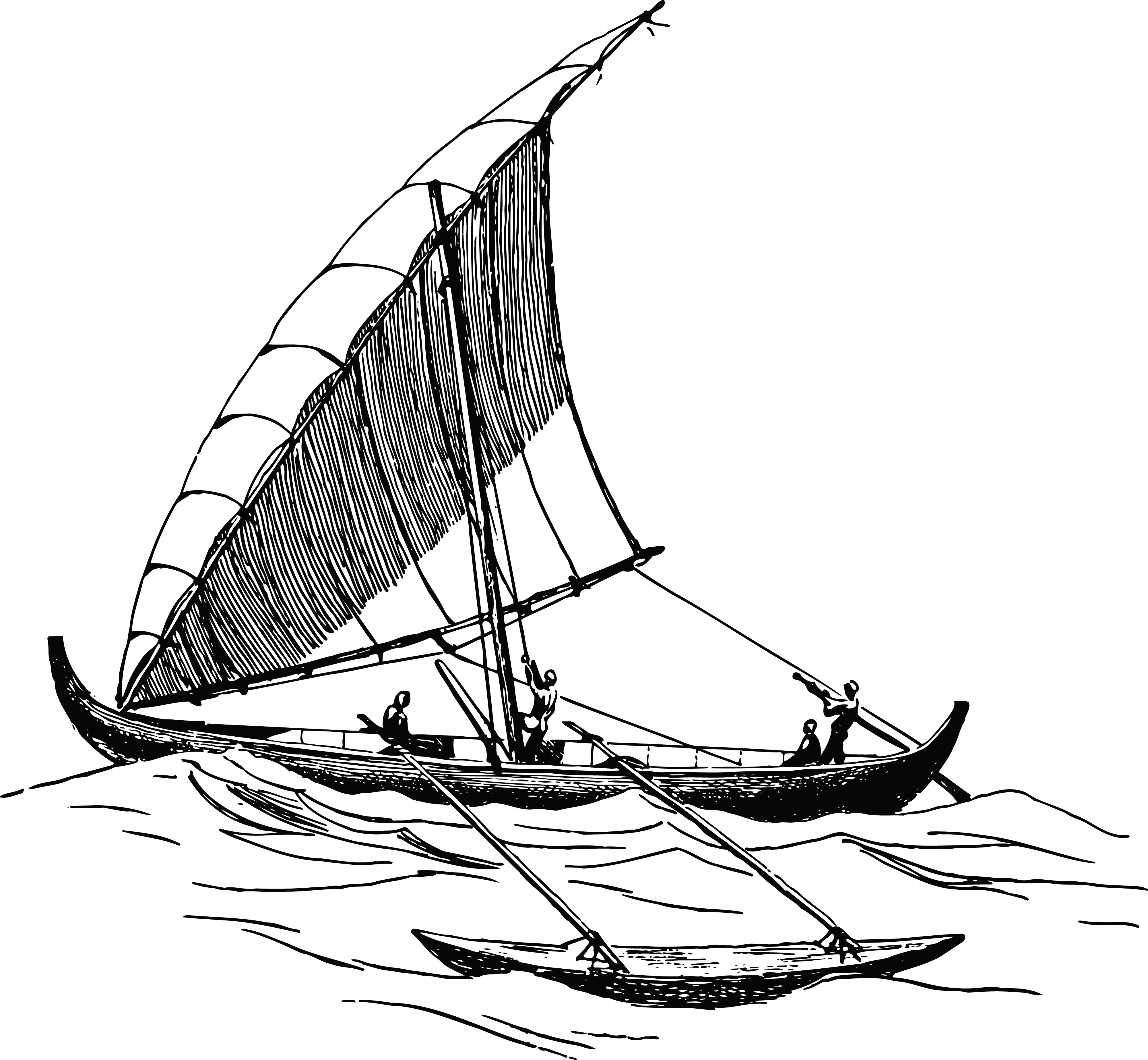 Free Clipart Of A Boat