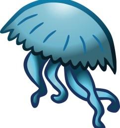 clipart jellyfish [ 4000 x 4398 Pixel ]