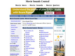 Movie Sounds Central