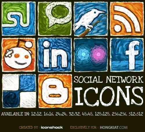 social-network-icon-set