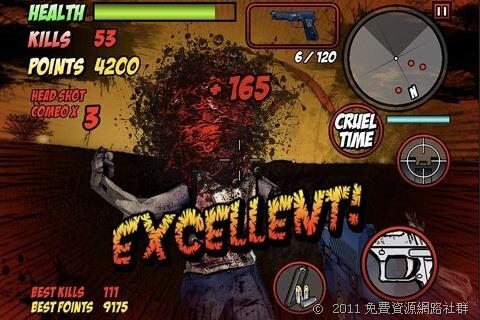 [iOS] Dead Raid -「惡靈古堡」玩家必試!第一人稱殭屍射擊遊戲!