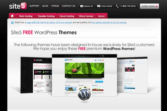 Site5 Free Premium WordPress Themes