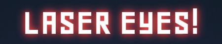 Laser Eyes 從眼睛噴出雷射光束!超白爛特效產生器