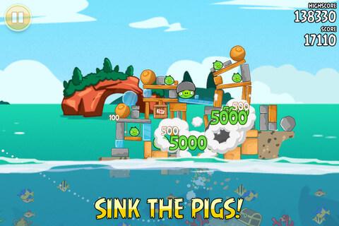 [iOS] Angry Birds Seasons 憤怒鳥限時免費下載