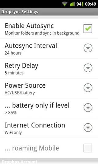 [Android] DropSync 讓你的 Dropbox 資料夾與手機裝置確實達到資料同步!