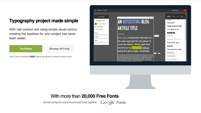 FontPro 超過 20,000 個免費網頁字型線上預覽、下載 via @freegroup