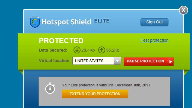 Hotspot Shield Elite VPN 免破解!六個月序號限時免費! via @freegroup