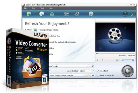 Leawo Video Converter Ultimate 全功能影片轉檔軟體,限時免費下載(中文版)