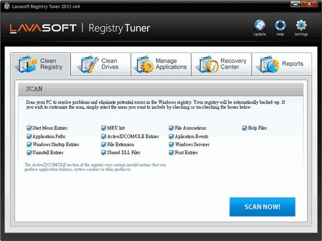 Lavasoft Registry Tuner 系統清理、最佳化工具,限時免費(含序號) via @freegroup