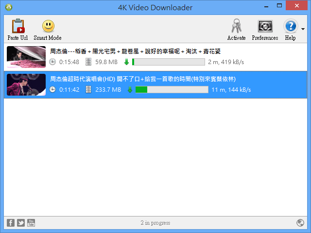 4K Video Downloader 免費線上影片下載工具,支援 YouTube、Facebook 等網站 via @freegroup