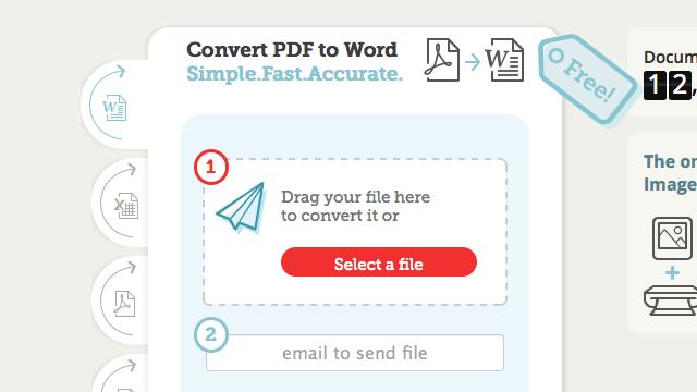 Convertii 線上將 PDF 轉為 Word、Excel 可編輯文件格式