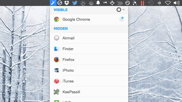 Hocus Focus 自動隱藏閒置、沒使用中的應用程式視窗(Mac) via @freegroup