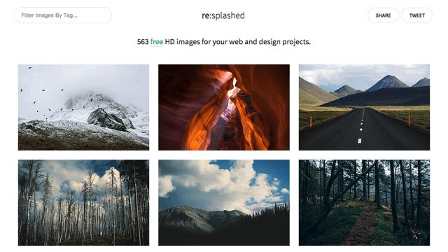 re:splashed 免費高解析度相片圖庫,可自由下載、用於網頁或設計專案